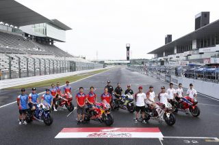 F.C.C. TSR Honda France, Red Bull Honda, MuSASHi RT HARC-PRO. Honda, Honda Endurance Racing, KYB MORIWAKI RACING, Honda Asia-Dream Racing with SHOWA